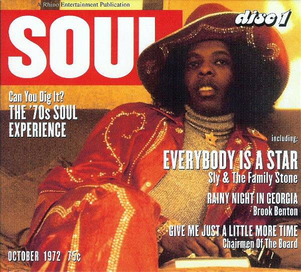 Various Artists Can You Dig It? The '70s Soul Experience (CD 1,2,3