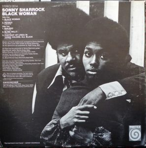Sonny Sharrock - 1969 - Black Woman Back Cover