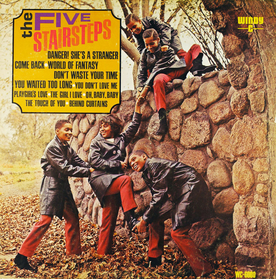 The Five Stairsteps - 1967 - The Five Stairsteps Free
