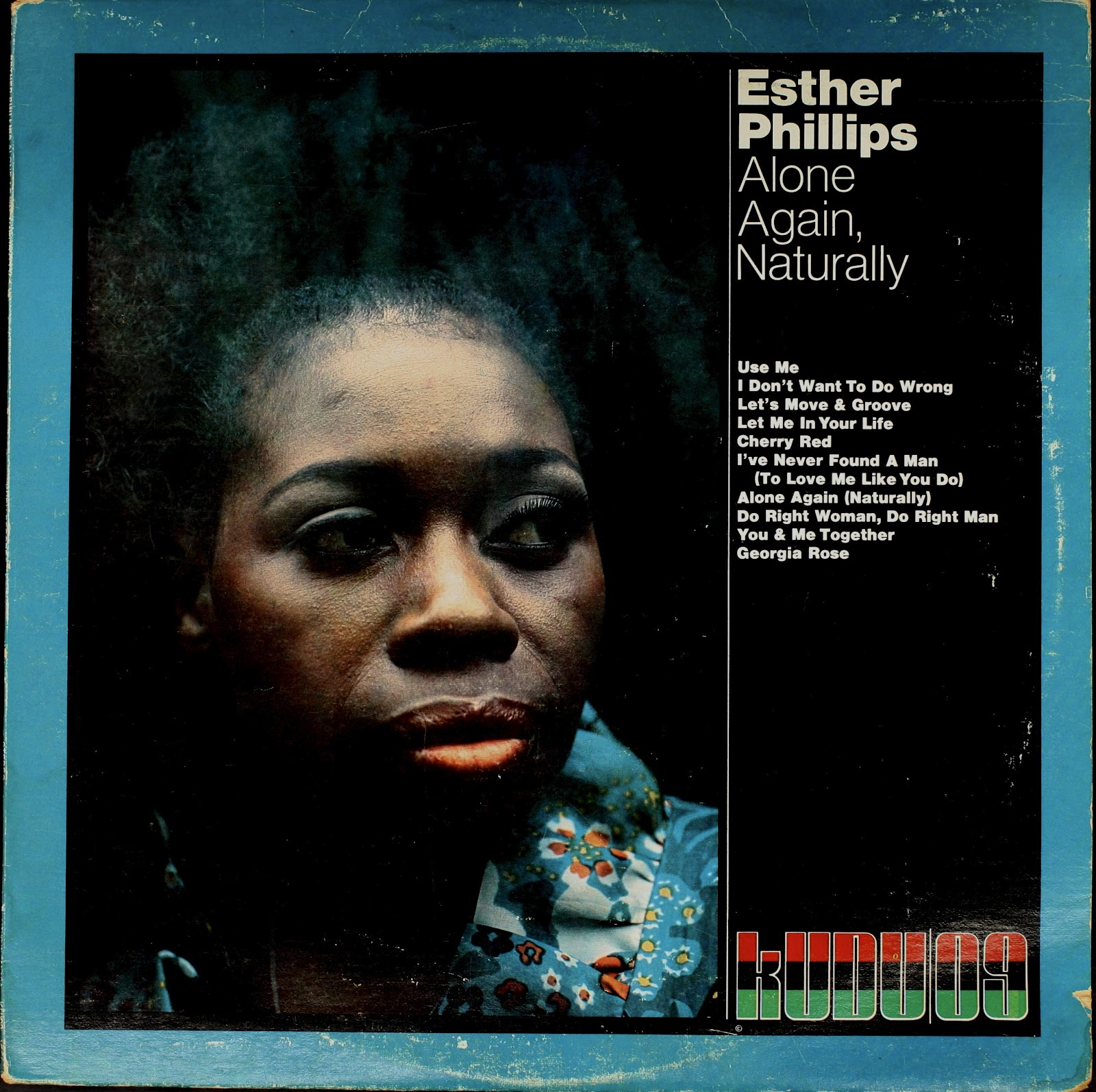 Esther Phillips - 1972 - Alone Again, Naturally Free